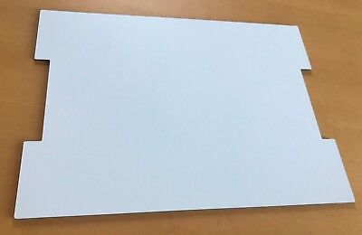 weiß 3mm Bodenplatte aus Dibond für Sortimo Bosch L-BOXX 4.0 LB4 Koffereinlage