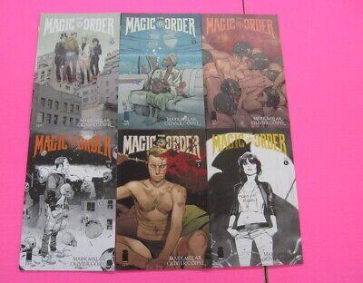 Magic Order 1-6 Complete Comic Lot Run Set Image Millar Netflix Collection