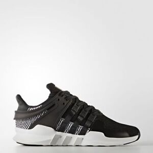 NEW MEN S ADIDAS ORIGINALS EQT SUPPORT ADV SHOES  BY9585  BLACK ... 02a0b38ee