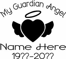 IN LOVING MEMORY PERSONALIZED CUSTOM VINYL DECAL STICKER CAR TRUCK SUV WINDOW