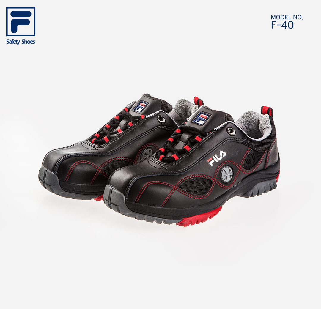 7f8565f341 FILA Brand New Safety Shoes Jogger F-40 Work shoes Steel Toe US 7 ...