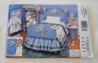 "Vogue 9352 18"" American Doll Bedroom Set Pattern"