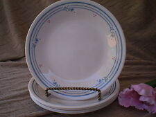 Corelle Dishes Country Violets Beige Small Bread & Butter Or Dessert Plates 5 Ct