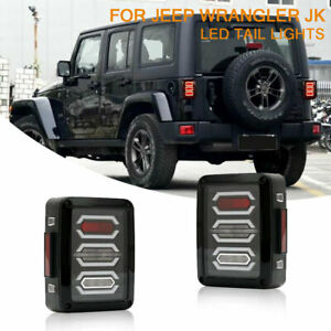 Jeep Wrangler Accessories 2017 >> Details About For Jeep Wrangler Jk 2007 2017 Accessories Led Rear Tail Lights Brake Lamps 2pcs