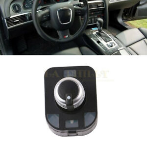 Details about Chrome Mirror Adjust Switch Knob No Folding For AUDI A2 A3 8P  A4 S4 RS4 B6 B7 A6