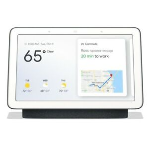 Brand-New-Sealed-Google-Home-Hub-with-Google-Assistant-GA00515-US-Charcoal