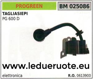 0613900 Bobine Électronique Taille-haies Cisailles À Haies Progreen Greencut Pg