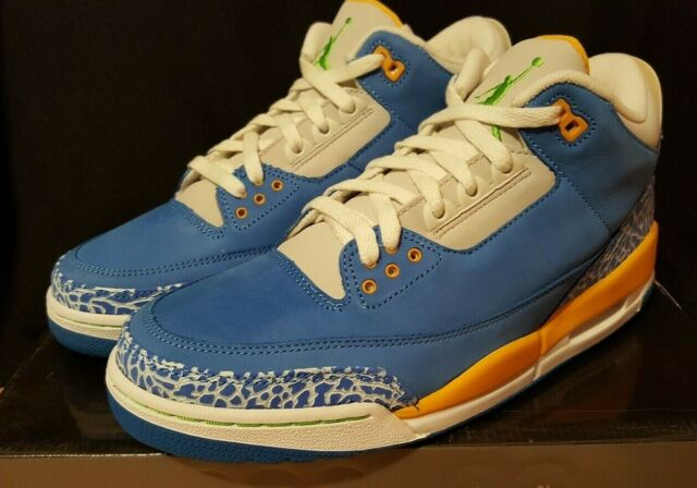 2007 Nike Air Jordan 3 III Retro DTRT Do The Right Thing Size 9.5