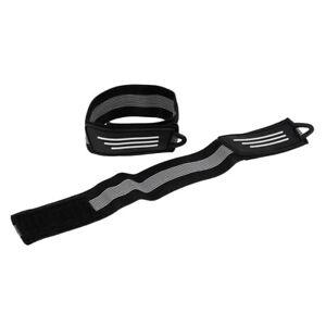 2 PCS Bike Bicycle Reflective Ankle Leg Bind Wrist Safety Band Arm Pants Strap