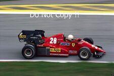 Rene Arnoux Ferrari 126C3 Austrian Grand Prix 1983 Photograph