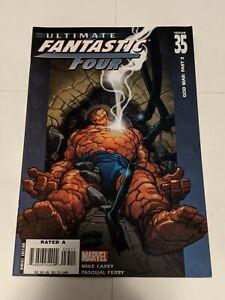 Ultimate Fantastic Four #35 December 2006 Marvel Comics Carey Ferry