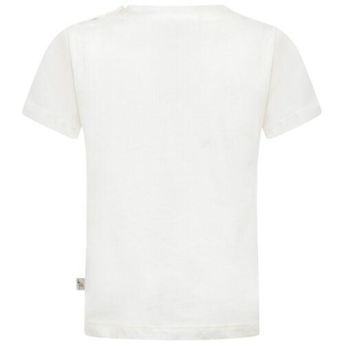 Chicas Stella McCartney Rosa Ciervo Logo Impreso En Crema T-Shirt 2Y 4//5Y