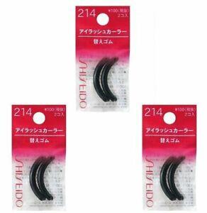 Shiseido-Eyelash-Curler-Sort-Rubber-214-3-Pics