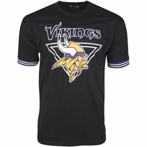 New Era NFL STRIPE Shirt Minnesota Vikings schwarz
