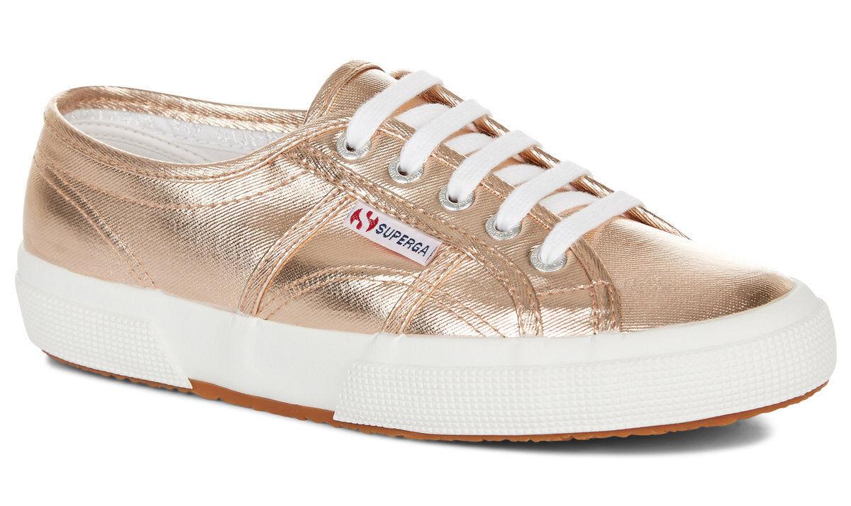 Superga 2750 COTMETU (Rose Gold) Schuhe  Official UK Superga Stockist