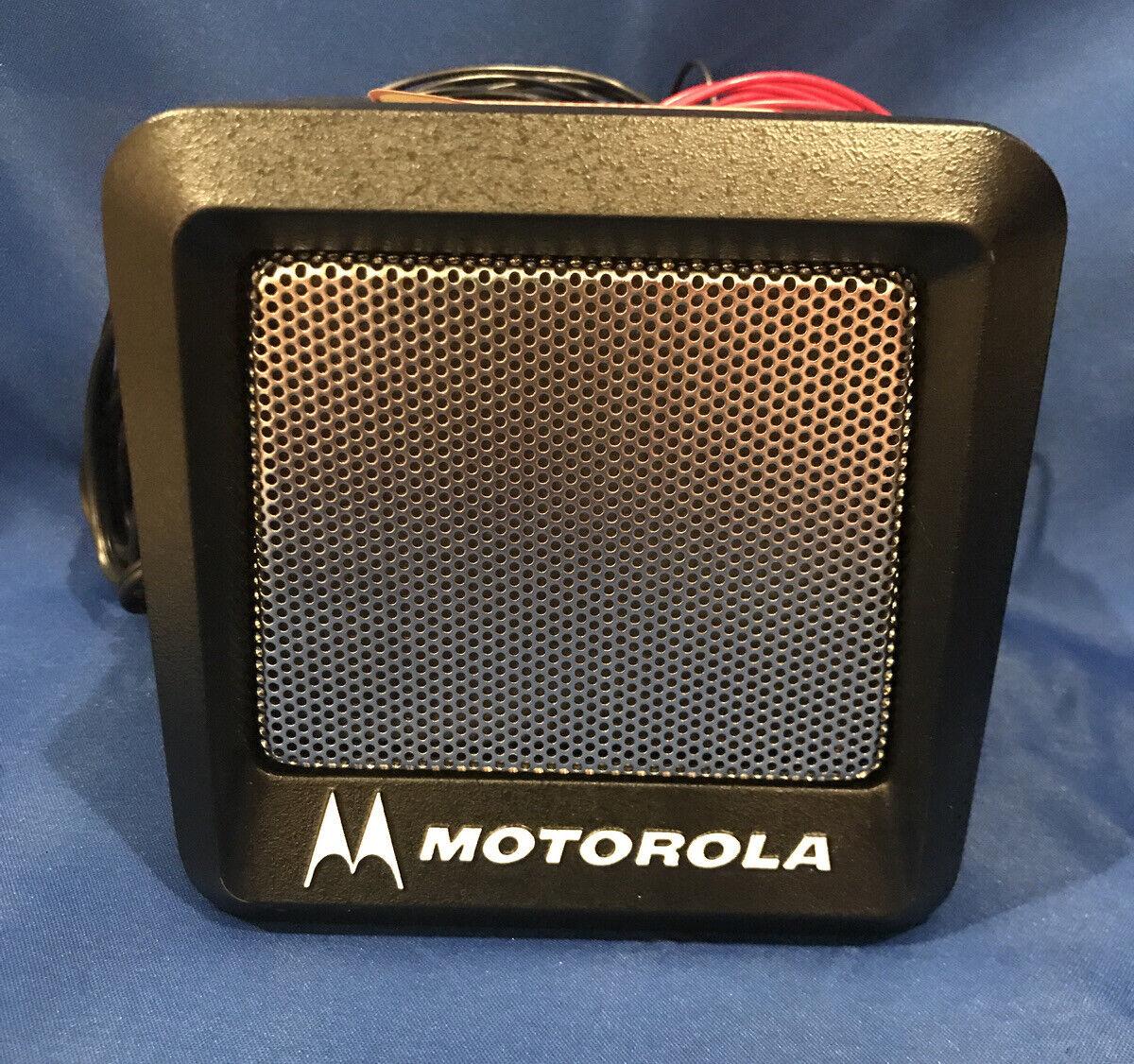 New Motorola MARATRAC Power Voice Speaker YSN4007A W/ Mounting Bracket/ Hardware. Buy it now for 625.00