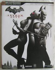 Batman Arkham City Bradygames Signature Series Guide 2011