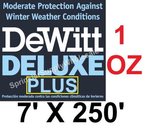 DeWitt Deluxe PLUS 7x250/' 1oz Frost Protection Freeze Blanket DeluxePlus7-250