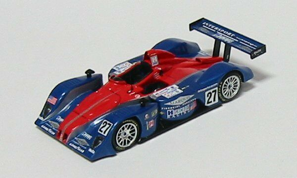 MG Lola B160 Judd Intersport Racing LM2004 n°27 SCMG12 1/43 Sparkmodel