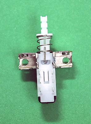 5pc Interlock Push Button Pushbutton Switch Lock Type 1 Key 2 Pole w Ear #102