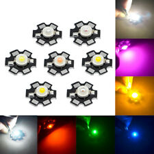 1w Watts High Power Smd Led Chip Lamp Beads White Red Blue Green Rgb Light New