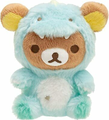 San-X Rilakkuma Dinosaur Kiiroitori Plush Doll Stuffed Toy MY72401 w// Tracking