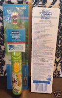 (2) Oral B Pro Health Stages Power Toothbrush Soft Jake And Never Land Pirates