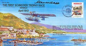 COF 13-1913 Century of Flight - The First Schneider Trophy Race - Signed !