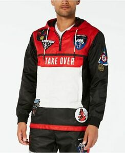 REASON-Take-Over-Hood-Red-Black-Size-S