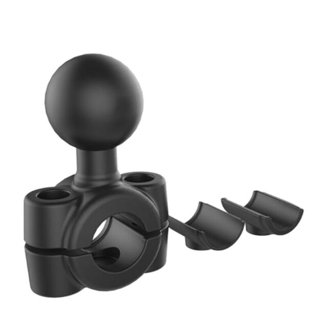Rail Mount 1 Inch Ball Car Headrest Motorcycle Scooter Rearview Mirror Stem G8E3