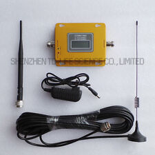 70dB LCD UMTS / LTE / CDMA / GSM 850MHz Signal Repeater Mobile Signal Booster