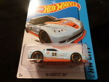 HW HOT WHEELS 2015 HW CITY #12/250 '09 CORVETTE ZR1 HOTWHEELS BLUE/ORANGE RARE