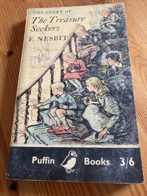 1963 Paperback The Story Of The Treasure Seekers by E Nesbit Puffin Books