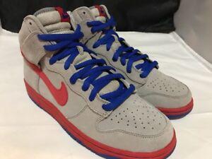 low priced f81fe b0e39 Image is loading Nike-Dunk-High-Pro-SB-Sz-10-Grey-