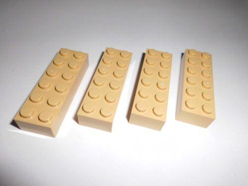 in tan aus 4954 9311 7326 41058 4867 7327 7573 Lego 4 Basicsteine 2x6x1 2456