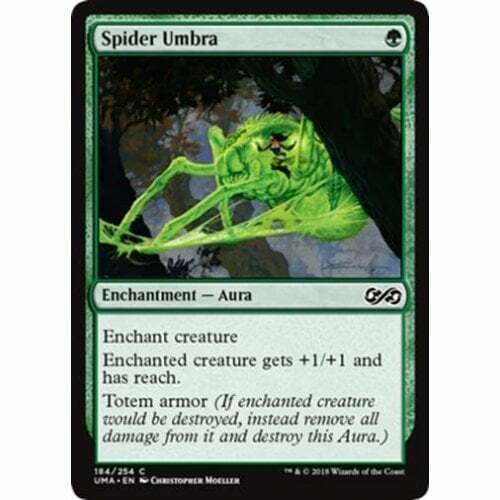 MTG ULTIMATE MASTERS Spider Umbra