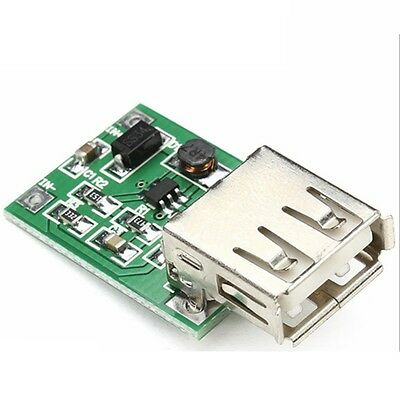 2 PCS DC-DC 0.9V-5V To 5V 600MA Step Up Booster USB Mobile Power Supply Module