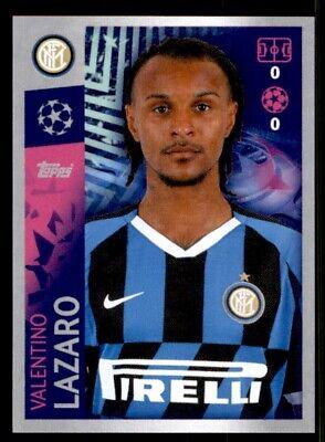 Topps Champions League 19 20 2019 2020 INT11  Valentino Lazaro