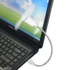Portable Flexible USB Cooling Fan Cooler For Laptop Desktop PC Computer White