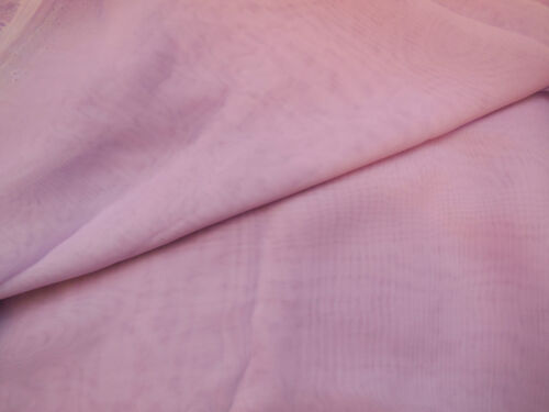 Purple lilac Premium Chiffon Fabric Polyester Clothing DIY 150cm wide.Per 0.5M