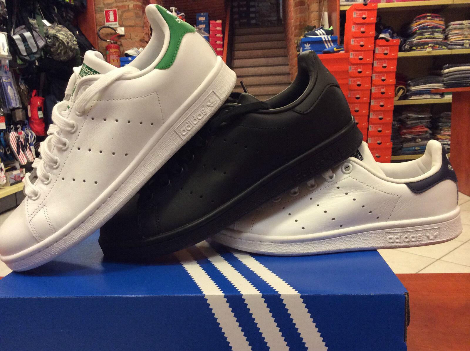 Chaussure adidas Stan smith Art m20324 schwarz bia/grün m20325 bia/blau M20327 schwarz m20324 b07d7d