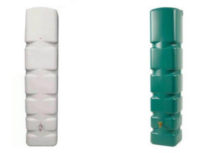 300L Space Saving Slim Line Water Butt For Rainwater Harvesting