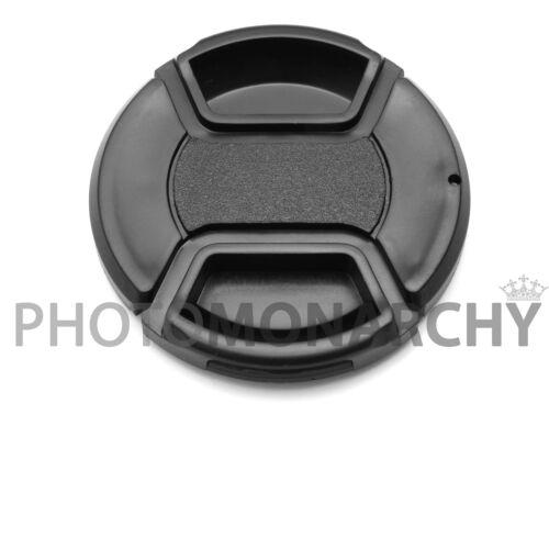 TAPPO frontale obiettivo 46mm a molla clip COPERCHIO 46 mm PENTAX OLYMPUS LUMIX