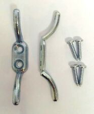Small Metal Cleat Hook Ideal for Washing Line Boat Blind Curtain Tie Chrome Hook