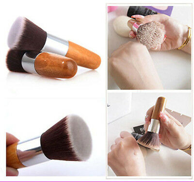 Flat Top Buffer Foundation Powder Brush Cosmetic Salon Brush Makeup Brush KK