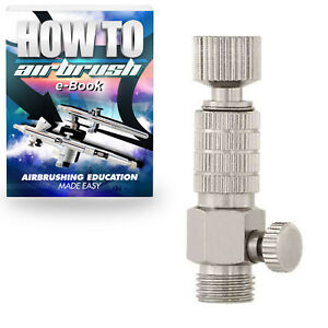 Airbrush-Quick-Release-Coupling-with-MAC-Valve-Set