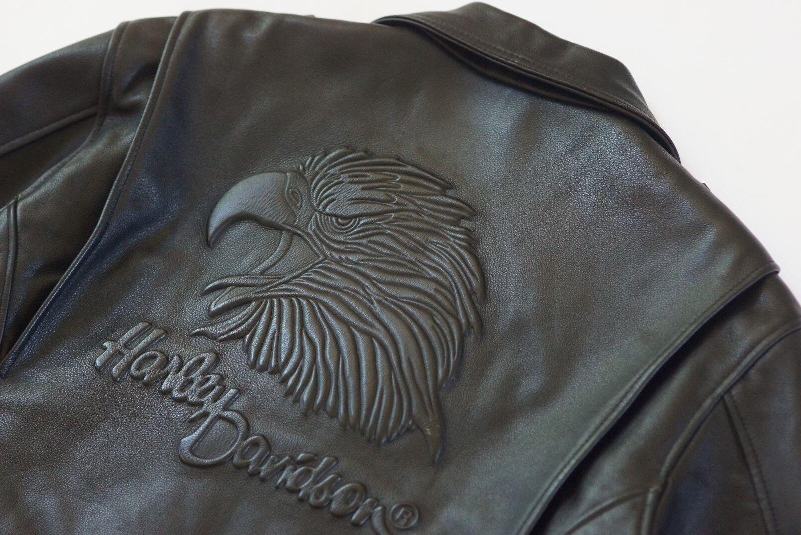 Ciselé Vintage Screamin Homme Original Harley Davidson Veste Aigle fqntOxIwx