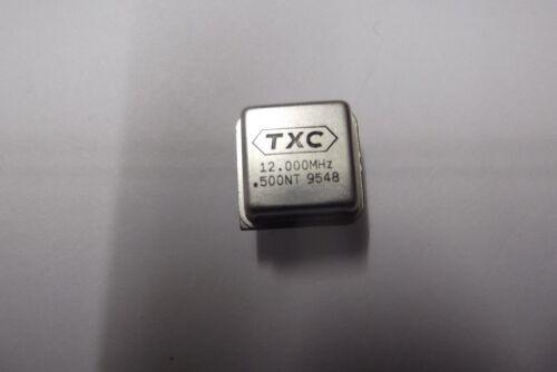 10x Quarz Oszillator TXC 12.000 Mhz
