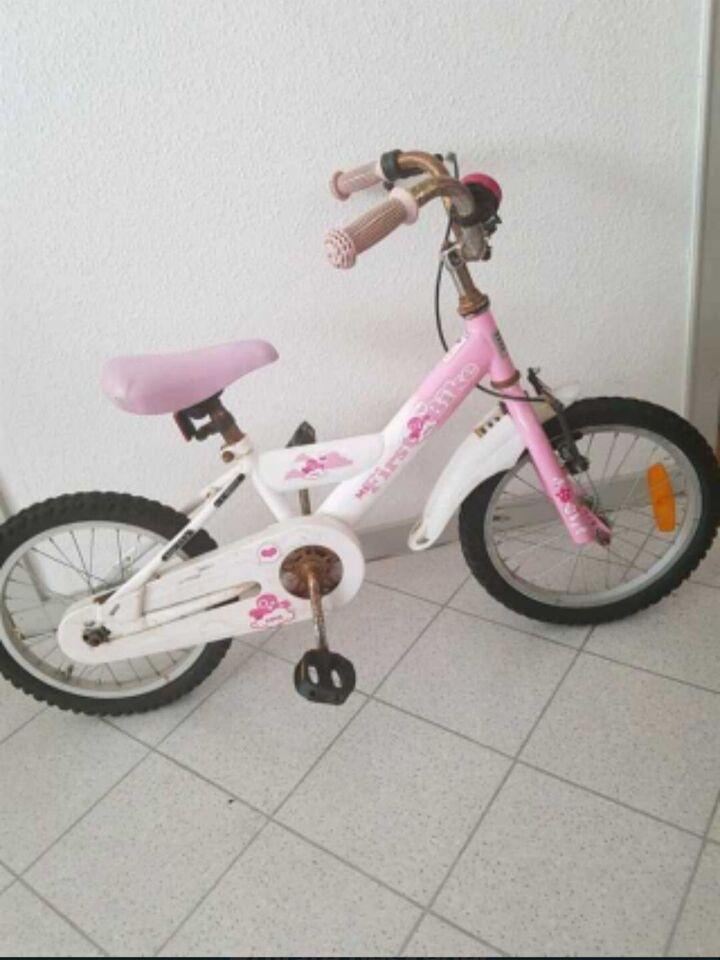 Pigecykel, balancecykel, 14 tommer hjul