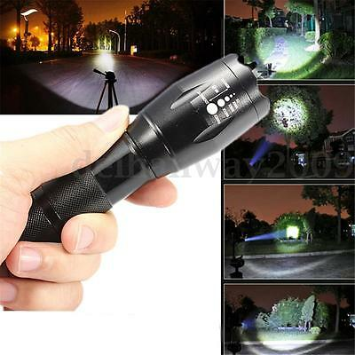 Elfeland 5000Lm T6 LED 18650 Flashlight Torch G700 Lamp Light 5 Mode Zoomable